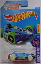 2016 Hot Wheels X-GLOW WHEELS 7/10 Arrow Dynamic 52/250 (Blue)(Int. Card)