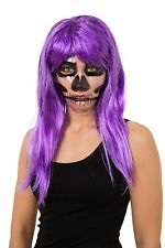 SKELETON PRINT ON TRANSPARENT MASK ADULT ONE SIZE FOR HALLOWEEN PARTY