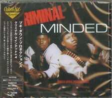 BOOGIE DOWN PRODUCTIONS-CRIMINAL MINDED+4-JAPAN CD BONUS TRACK Ltd/Ed C94