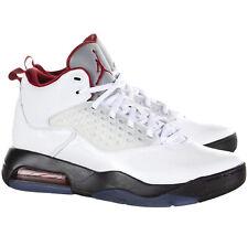 Jordan Maxin 200 Basketball Shoes in White/Gym Red/Black 11.5 CD6107 101