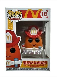 Funko Pop Ad Icons Fireman McNugget 112 McDonalds Collectible Vinyl Figure New