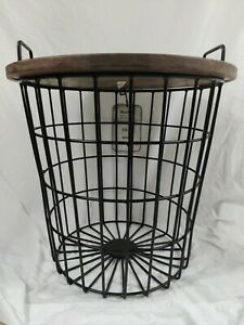 Lift-up Coffee Accent Table Hidden Storage Cabinet Compartment Metal Finish