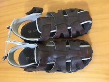 New carter's Boy Brown Sandals Shoes Size 9,10,11,12
