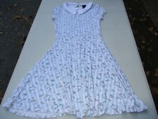 Disney Alice In Wonderland Collar Dress Size Small NWT