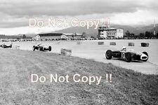 Tony Marsh & STIRLING MOSS & JACK BRABHAM flugplatzrennen 1960 photographie