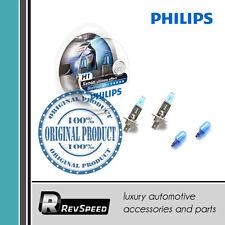 PHILIPS BlueVision Ultra Headlight Bulbs H1 Pair=2 Bulbs 4000K Xenon 12258BVUSM