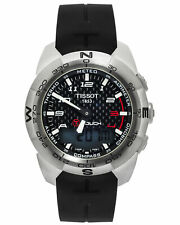 TISSOT T TOUCH EXPERT QUARTZ  43MM TITANIUM MEN'S WATCH $1,075
