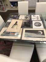 Rare Nasa Autographs Lot Neil Armstrong Gemini Apollo 11 Signed Lithograph HTF