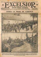 Prise de Carency-Neuville-Saint-Vaast Poilus Bataille de l'Artois WWI 1915