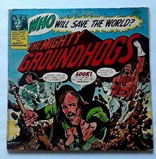 "Groundhogs ""Who Will Save The World?"" Original LP (UAS 5570) 1972. RARE !"