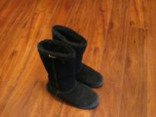 Womens Boots Size 7 Bear Paw Boots Black FAux Fur Lining