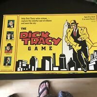 The Dick Tracy Movie Board game, Vintage, 100% Complete, Great condition
