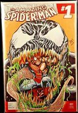 SPIDER-MAN #1 ORIGINAL ART SKETCH VENOM CARNAGE GWEN GHOST AVENGERS MARVEL COMIC