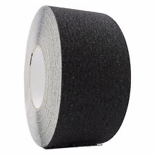 """3"""" x 60' Black Non Skid Adhesive Tape 60 Grit Grip Anti Slip Traction Safety"""