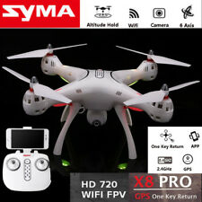DRONE SYMA X8PRO GPS AUTO RIT HEADLESS WIFI CAMERA HD FPV REAL TIME VIDEO