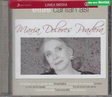 Maria Dolores Pradera Ellas Cantan Asi CD New Nuevo Sealed