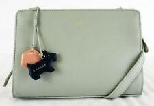 **RADLEY LONDON LIVERPOOL STREET Stone Leather Medium Crossbody Bag Msrp $195.00