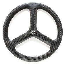 HED 3C Trispoke Carbon Tubular 700c FRONT Wheel Time Trial Triathlon Bike Rim QR
