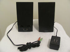Creative Labs SBS270 Computer Speaker set with Power Cord - Tested - Operational