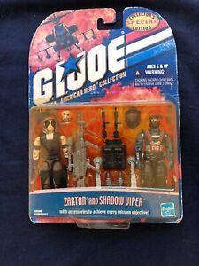 GI JOE The Real American Hero Collection: Zartan and Shadow Viper
