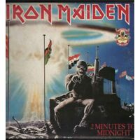 "Iron Maiden Lp Vinile 12"" 2 Minutes To Midnight - Aces High Nuovo 0077779399215"