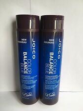JOICO COLOR BALANCE BLUE SHAMPOO AND CONDITIONER 300ML / 10.1 FL.OZ.
