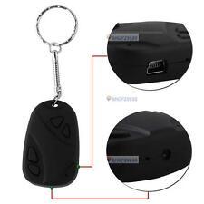 Mini 808 Car Key Chain Micro Camera HD 720P H.264 Pocket Camcorder Hidden Cam @F