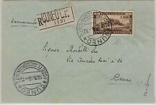 47308 - ITALIA - Sassone 600 CENTENARIO REPUBBLICA ROMANA su BUSTA - DIENA 1949