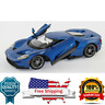 diecast model 2017 Ford Gt- blue-Special Edition - by Maisto 1:18 scale