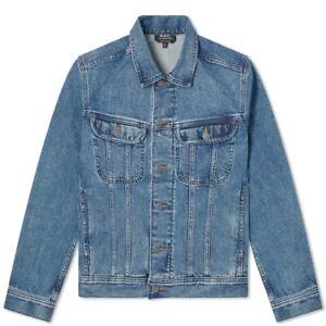 APC Paris Denim Jacket Mens Large