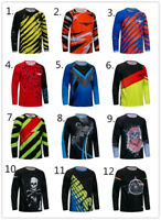 2019 Cycling Jersey Men's Speed-down Clothing MTB Bicycle Shirt Riding Bike Tops