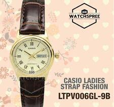 Casio Ladies' Analog Watch LTPV006GL-9B LTP-V006GL-9B
