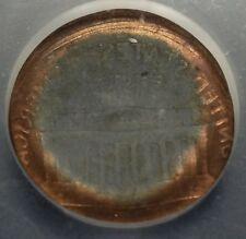 MONSTER 90% BROCKAGE & BROADSTRUCK LINCOLN CENT RARE BEAUTIFUL ICG MS-66RD
