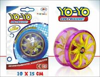 Yoyo Yo-Yo Con Frizione e Luci Gioco Giocattolo Bambini hmj