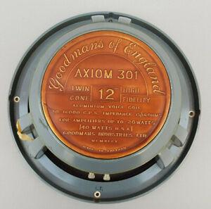 "Goodmans Axiom 301 Twin Cone 12"" Speaker (Single)"
