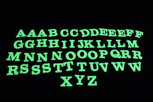 DirectGlow 50 Piece Glow in the Dark Alphabet Wall Ceiling Decor Set