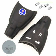 Saab DIY Repair Kit - Quality Replacement 4 Button Smart Remote Car Key Fob Case