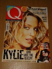 Q MUSIC MAGAZINE #191 KYLIE SEX PISTOLS OASIS BOWIE
