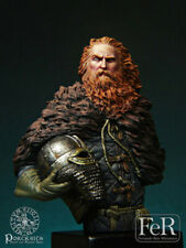 FeR Viking Ivar the Boneless Jorvik 866AD 1/16th minibust Unpainted resin kit