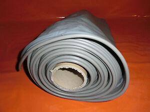 (Grundpreis 9,90 €/m) PVC Bodenschürze Höhe 75 cm f. Wohnwagen Farbe: grau