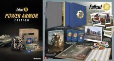 PS4 Fallout 76 Power Armor Edition & Prima Official Platinum Edition Guide SET