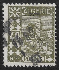 Algeria 1926 Sidi Abderrahman Mosque 40c (DX3)