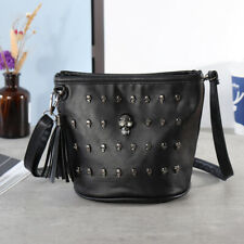 Women Skull Handbag Shoulder Bag Crossbody Messenger Tote Purse Travel Satchel