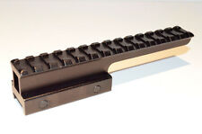 """1"""" Extended Riser Scope Mount Rifle Picatinny Riser high-profile see through"""