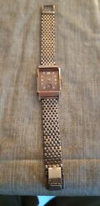 Bulova Vintage Mens Wristwstch Gold Filled. For parts or Repair, movement runs