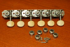 Vintage RARE 1965 Waverly 6 in line Magnatone Zephyr Guitar Tuners Luthier Part