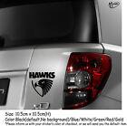 Hawthorn HAWKS Refelctive Car Sticker Decals Stickers Best Gifts
