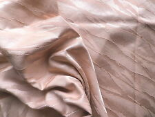Vintage 1940's 50's Brocade Interiors Upholstery Fabric Pale Pink Abstract