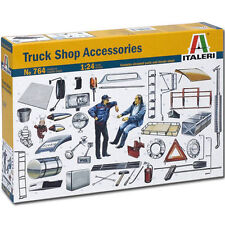 Italeri Truck Shop Accessories Zubehör LKW Truck 1:24 Bausatz Model Kit Art 764
