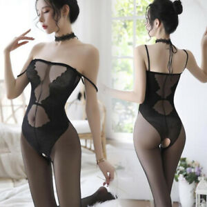 Women Sexy Lingerie Body stockings Dress Underwear Babydoll Sleepwear Bodysuit